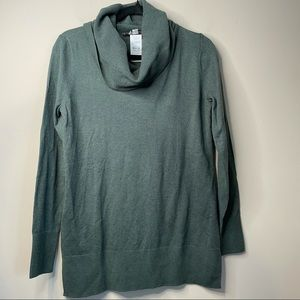 LOFT Ann Taylor funnel neck cowl sweater